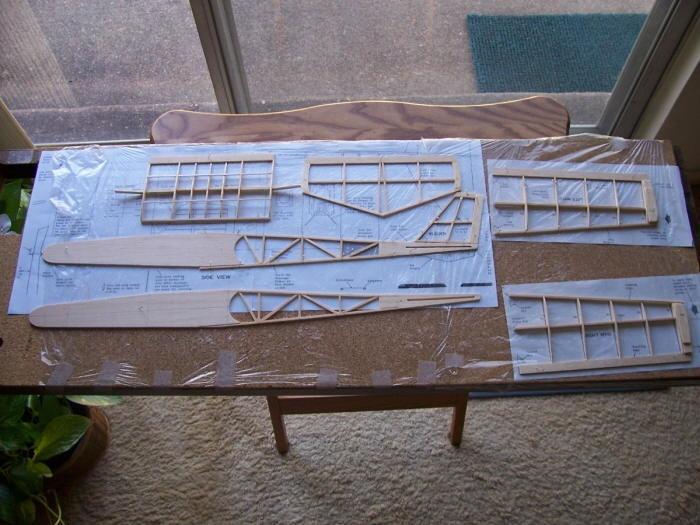 Guillows Fly Boy Model Kit